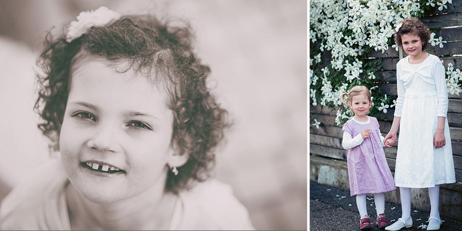 Fotoshooting Kind Erstkommunion Wels