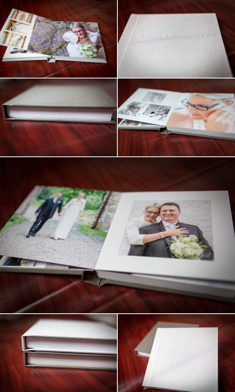 Collage Hochzeitsbuch